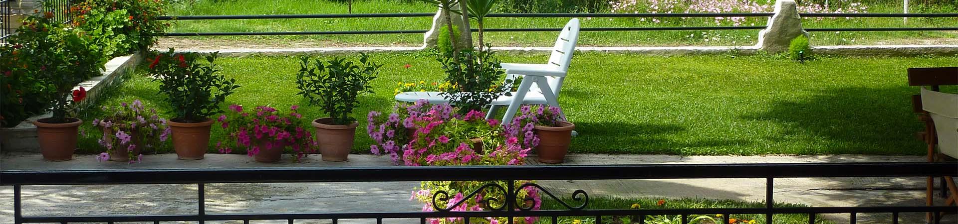 Hatzis House garden